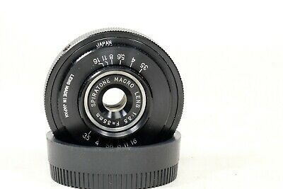 Spiratone 35mm f3.5 Macro Lens with NIKON mount. EXC++++