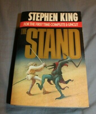 Stephen King THE STAND Complete & Uncut Horror Novel 1978 Doubleday softcover