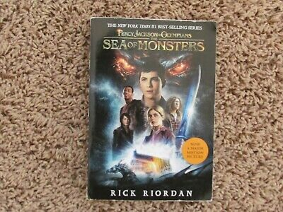 Percy Jackson & the Olympians: The Sea of Monsters by Rick Riordan (2007, PB)