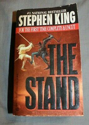 THE STAND by Stephen King COMPLETE & UNCUT 1991 First Printing Signet Paperback