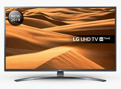 "LG 55UM7400PLB (2019) 55"" SMART 4K Ultra HD HDR LED TV Freeview Play C Grade"