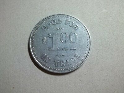 Old G.Tolzin Grocery Store Good For $1.00 In Trade US Trade Token Hanover Iowa