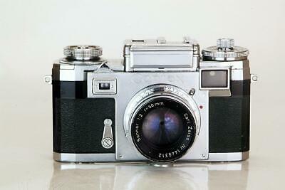 ZEISS CONTAX IIIA  with Sonnar f:2 lens.  Beautiful & Perfect Working condition