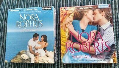 Nora Roberts 2 Audiobooks with 4 Stories CD Unabridged Audio Book Lot New Sealed
