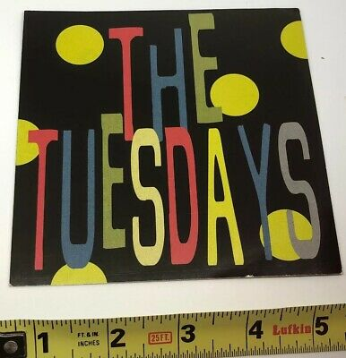 The Tuesdays Promotional Sticker (1998)