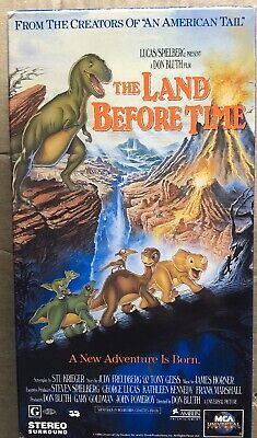 The Land Before Time VHS Tape 1996