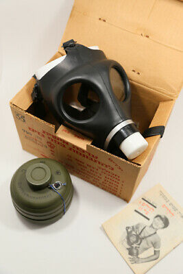 New in box Israeli  Youth Womens Gas mask Respirator with Sealed 40mm filter