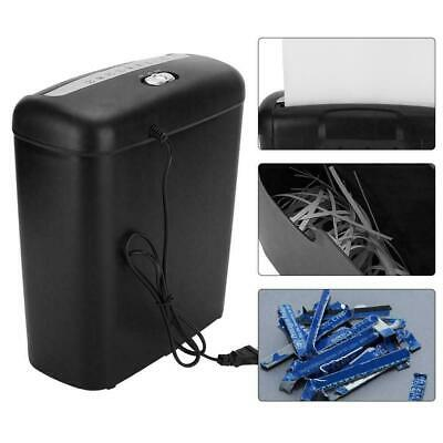 110V Commercial Home Office Paper Shredder Strip Cut Credit Card Destroy Desktop