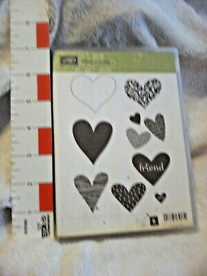 """Stampin UP """" I (Heart) Hearts"""" REDUCED"""