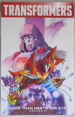 Transformers More Than Meets The Eye vol 10 trade paperback IDW