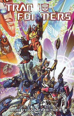 Transformers More Than Meets The Eye vol 5 trade paperback IDW