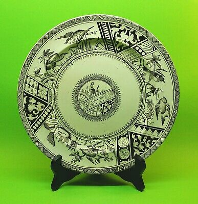 🌟 Antique Plate Forester & Hulme Congo Sutherland Pottery Staffordshire 1883