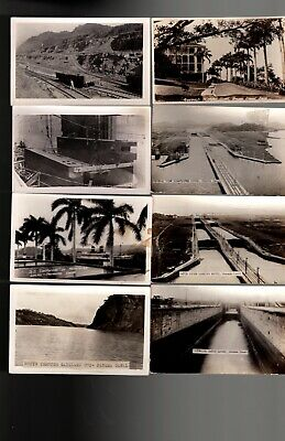 Canal Zone Panama Large lot (35) of photo cards (GC)