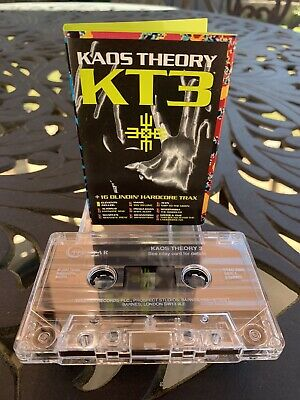 Kaos Theory 3 - Cassette Album - Lovely Condition