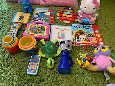 Bundle of Baby Toys Vtech  And Mix Brand Book