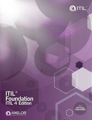 ITIL Foundation 4 edition P.D.F