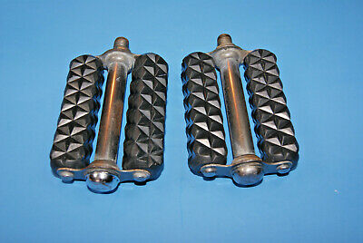 VTG 1960's 1/2' Pedals w/o Reflectors fits Schwinn Sears Murray Huffy AMF OTHERS