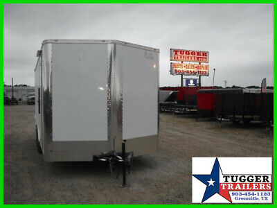 8.5X16 16Ft Toy Work Landscape Business Office Cargo Enclosed Business Trailer