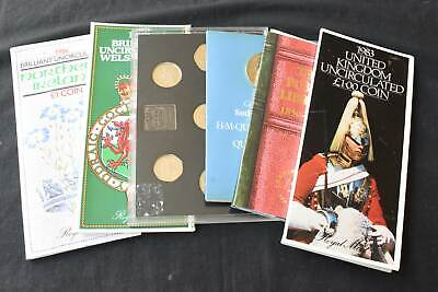 Great Britain Uncirculated Decimal Coin Collection Packs, 99p Start