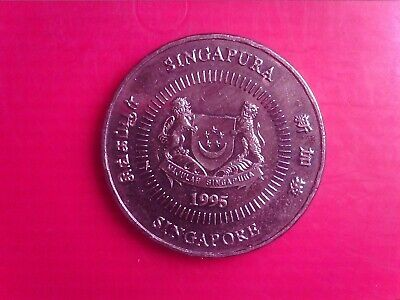 Singapore  50     Cents   1995    May29