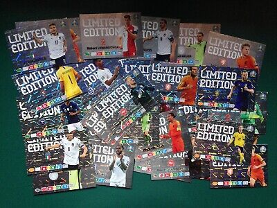 PANINI ADRENALYN XL EURO 2020 -- LIMITED EDITION (Over 40 cards to choose!!)