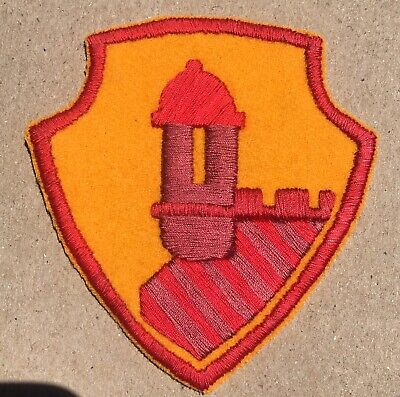 WWII hand embroidered Antilles Department