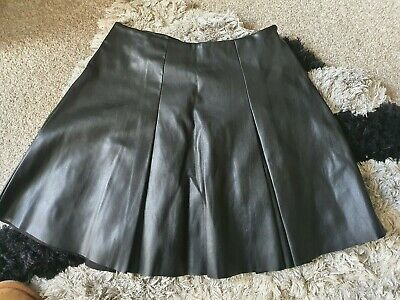 River Island Girls Age 11 Faux Leather Skirt