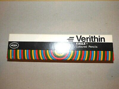 Verithin Eagle Coloured Pencils 745 Carmine Red One Dozen Boxed Nos (2)