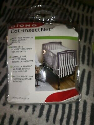 Diono Cot Bed Insect Net, white, brand new with packaging