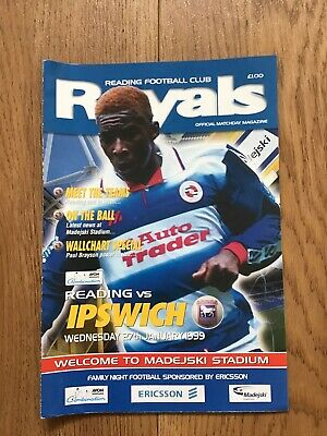 Reading v Ipswich Town reserve league 1999