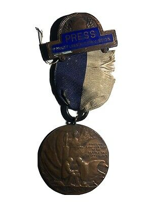 Civil War 1913 Reunion Medal From The Battle Of Gettysburg