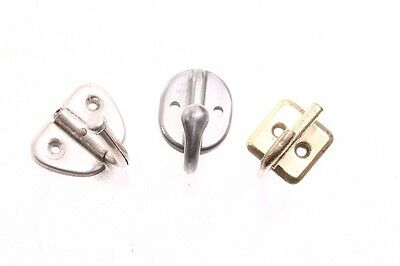 3 Piece Wall Hook Wardrobe Coat Hook Wall Coat Rack