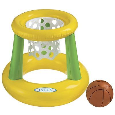 Inflatable Basketball Ball Floating Swimming Pool Hoop Game Childrens Toys Intex