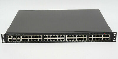 Brocade ICX6450-48P 48-Port Enterprise-Class 780W PoE+ Switch 4x10GbE