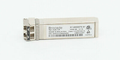 Brocade 57-0000075-01 10GE SR Transceiver 850nm