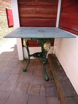 Cast Iron Pub Type Table For A Garden, Patio Or Conservatory