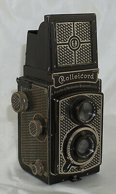 Rolleicord Art Deco Early TLR Camera