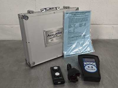 SpectroLine Accumax XRP-3000 Digital Radiometer/Photometer With Case and Sensor