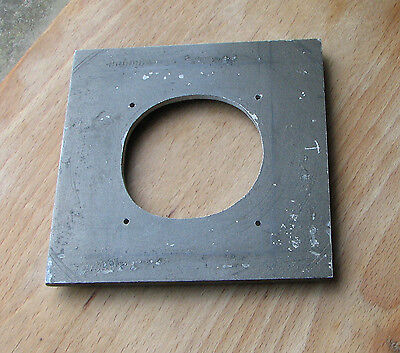 115mm square cast  Kodak Specialist 2 & 3 lens board rough 59mm hole