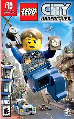 Nintendo Switch Video Game Lego City Undercover Brand New And Sealed