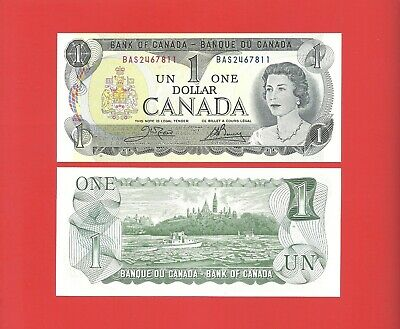Canada $1 1973 Crow/Bouey --BAS-- pick #85c Uncirculated