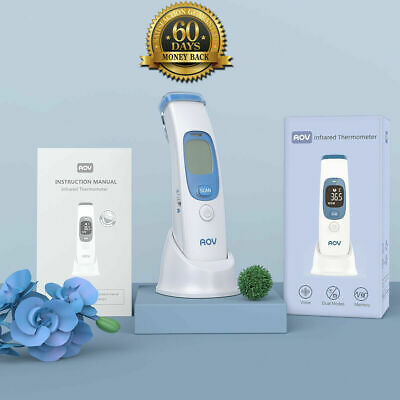 Non-Contact Infrared Digital Forehead Thermometer Baby Adult Temperature Gun CE