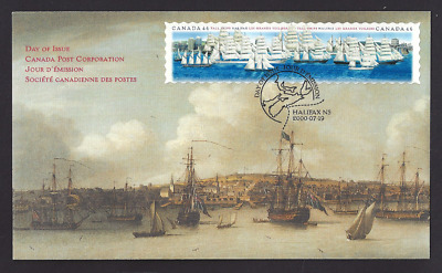 Canada   #  1864 - 1865   TALL SHIPS    Brand New 2000 Unaddressed Issue