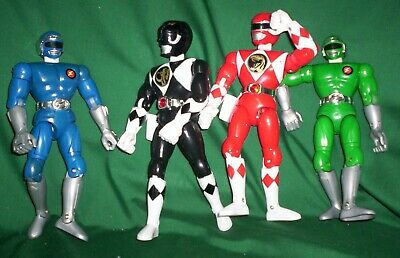 Power Ranger Plastic Action Jointed Figures