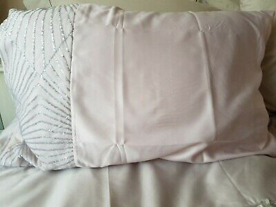 Kylie Minogue Blush/Light Pink Silver  Housewife Pillowcases