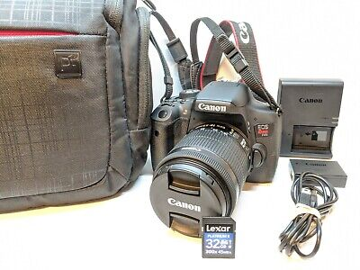 Canon EOS Rebel T6i Digital Camera + 18-55mm IS STM Lens Kit - EXCELLENT !!!