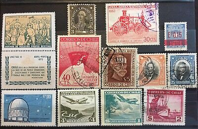 Excellent CHILE postage stamps for your world collection!!!!!