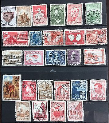 Excellent DENMARK postage stamps for your world collection!!!!!!