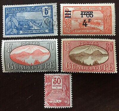 Excellent GUADELOUPE postage stamps for your world collection!!!!!
