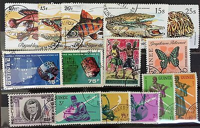 Excellent GUINEE Postage stamps for your world collection!!!!!